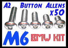 R1200GS M6 Button Allen Screw Selection (x50 A2 Stainless)