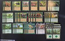60 Card Deck - GREEN SQUIRRELS! - Ready to Play - Fun - Magic MTG FTG