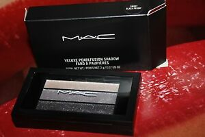 NEW LIMITED EDITION MAC SMOKY BLACK FRIDAY VELUXE PEARLFUSION EYE SHADOW TRIO