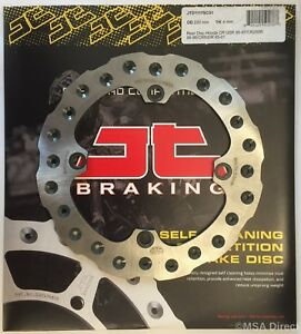 JT Brakes Self Cleaning REAR Wavy Brake Disc Fits HONDA CR250 (1995 to 1996)