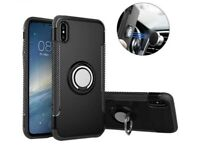 iPhone X and XS Durable Slim Black Phone Case