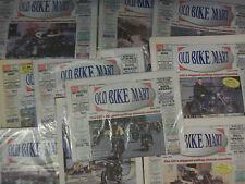 Job Lot 15 Old Bike Mart Issues 193, 195, 199-202, 204-210, 212, 214 Folded Fine