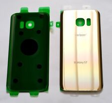 Original OEM Back cover Glass For Samsung Galaxy S7 Verizon G930V~ Platinum GOLD