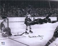 "Bobby Orr Boston Bruins Autographed 16"" x 20"" The Goal Photograph"
