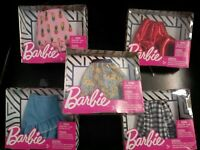 Barbie's ULTIMATE dress, Skirt clothing Playset GIFT lot.. new in 5 boxes!