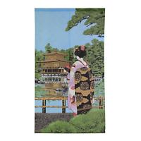 Noren - Rideau Japonais Porte / Japanese Door Curtain - Maiko Kinkakuji