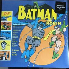 SUN RA & THE BLUES PROJECT BATMAN AND ROBIN LP ON 180 GRAM VINYL - NEW + SEALED