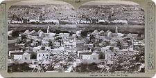Jerusalem Stereo Vintage Argentique Silver Print