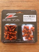 NEUF KTM SX SXF sauf EXCF 2016 - 2018 ZETA orange Aluminum plastique Kit de