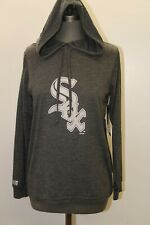 NEW Major League Fitness Chicago White Sox Womens M Gray Long Sleeve T-Shirt