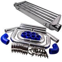 2.5' Universal Pipe Kit & Front Mount Intercooler 550x180x65 Core Tube & Fin