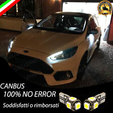 KIT LUCI DI CORTESIA ANTIPOZZANGHERA A LED CANBUS 6000K FORD FOCUS NO ERRORE