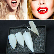 Fancy Dress Vampire Teeth Denture Fangs Bites Costume Party Halloween Props 4X