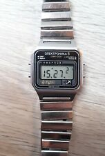 Elektronika 5 Made in URSS orologio digitale lcd vintage con bracciale originale