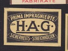 Ancienne étiquette  allumettes Allemagne BN104657
