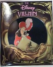 CAPTAIN HOOK FROM PETER PAN 2002 DISNEY SHOPPING LE VILLAIN SERIES BOXED PIN