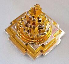 Powerful Sri Meru Yantra Shree Yantra ShrI Meru Yantra 2x2, 3x3, 4x4 Inches