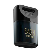 64GB Silicon Power Jewel J06 Compact USB3.0 Flash Drive Deep Blue