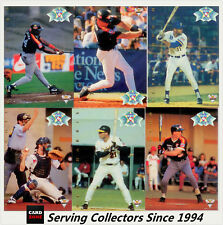 1994 Futera Australia Baseball Card Regular All Stars Chase Cards Full Set(10+1)