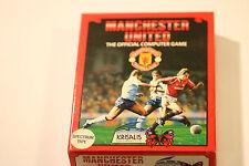 Juego de fútbol del Manchester United-ZX SPECTRUM juego 48K 128K por Krisalis 1989