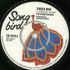 "Kingstonians Singer Man UK 7"" vinyl single record SB-1019 SONG BIRD 1970"