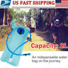 Tactical Hydration Bladder System 2L TPU Water Bag Pack Pouch For Camping Hiking