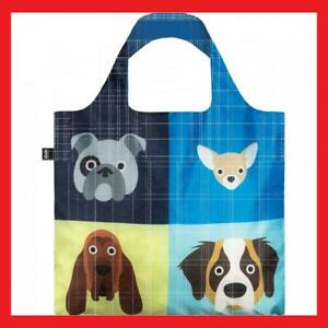 NEW Loqi Reusable Shopping Bag Dogs Collection