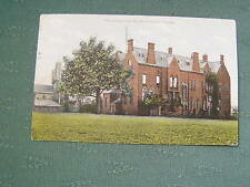 1909 THE COLLEGE AND ST JOHNS CHURCH HARLOW - ESSEX  POSTCARD