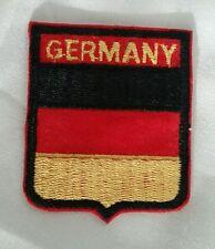 GERMANY SHIELD HAT PATCH GERMAN FLAG Deutschland Aufnäher Shield