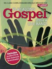 Play-Along Gospel With A Live Band! - Clarinet AM997678
