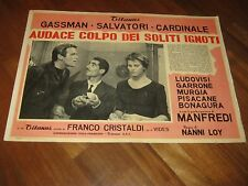 FOTOBUSTA,S/1,AUDACE COLPO DEI SOLITI IGNOTI SALVATORI GASSMAN CLAUDIA CARDINALE