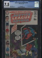 Justice League of America #80 CGC 7.5 - 1970