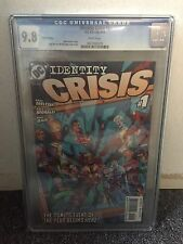 IDENTITY CRISIS #1 CGC 9.8 THIRD PRINT VARIANT COVER RAGS MORALES 2004 DC COMICS