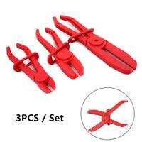 3Pcs/Set Plastic Oil Pipe Tube Hose Cut-off Sealing Pliers Clamp Car Repair Tool