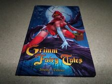Grimm Fairy Tales Vol. 1 Special Edition Signed Brusha Tedesco HC Zenescope NEW