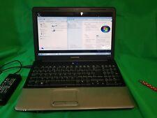 """HP Compaq CQ60 15.6"""" Laptop AMD 2.0GHz 320GB HDD 4GB Ram Windows 7 or 10"""
