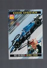 Eddie Cheever Race Car Driver Signed SI For Kids Magazine Card W/Our COA