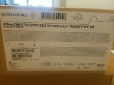 Acelity Kci 300ml Canister With Gel For Activac Therapy System Lot Of 5