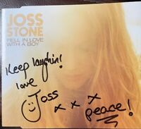 Joss Stone - SIGNED Fell In Love With A Boy Debut CD single