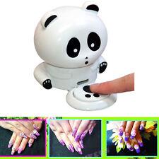 Panda Nail Dryer Nail Tool Blowing Nail Creative Utility Drier Nail Art Polish