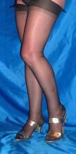 15den CERVIN CAPRI Nylons RHT GRIS DKL GRAU T5 Gr 11 XXL 170-183cm Nylonstrümpfe