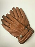 Warmen Sheepskin Leather Gloves Texting Touchscreen Winter Warm Driving Size 8.5