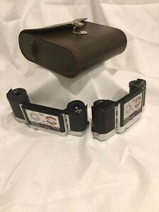 TWO ZEISS 35MM FILM BACKS FOR CONTAREX IKON