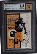 1998 Playoff Contenders Football #94 Hines Ward Rookie Autograph/500-BGS-Steeler