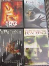 LOT DE 4 DVD HORREUR HEADSPACE - DEAD BIRDS -DEATH TUNNEL - LE LIVING AND THE DE