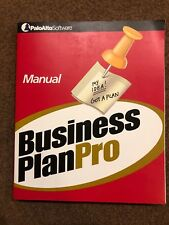 PaloAlto Software • Business Plan Pro Manual (Paperback, 2003) BOOK ONLY