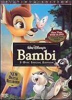 Walt Disney's Bambi 2 Disc Special Platinum Edition DVD - Bilingual, New Sealed