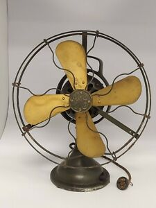 Rare antique GE General Electric 75423 -  3 speed oscillating Fan Collectible