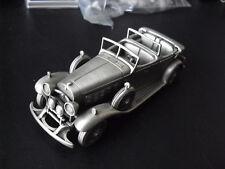 "Big Danbury Mint England Pewter Car 1931 Cadillac Phaeton 5 3/4"" Long"