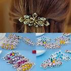 2016 Crystal Rhinestone Women Hairpin Flower Barrette Hair Clip Fashion Jewelry